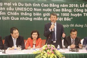 Cao Bằng: Chuẩn bị tổ chức Hội nghị xúc tiến thương mại và đầu tư, du lịch 2018