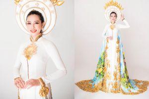 Sau chiến thắng vang dội của Phương Khánh, Thùy Tiên càng được chú ý hơn khi công bố trang phục dân tộc ở Miss International 2018