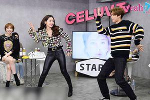 Chi Pu bất ngờ xuất hiện trên đài truyền hình danh tiếng Hàn Quốc tự tin khoe tài vũ đạo và được soái ca nhà SM tỏ tình