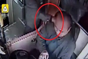 Trung Quốc: Cụ ông 76 tuổi bóp cổ tài xế xe buýt vì không cho xuống xe