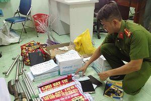 Triệt phá điểm cho vay nặng lãi tại Khánh Hòa