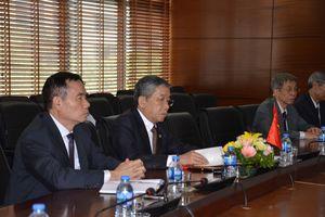 Hội Khoa học kỹ thuật Cầu đường Việt Nam làm việc với Hiệp hội Xây dựng cầu Nhật Bản