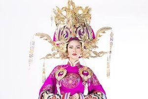Hé lộ Quốc phục kiêu sa của Kim Nguyên tại Hoa hậu Châu Á 2018