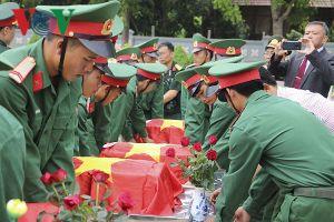 Điện Biên còn trên 5.200 phần mộ liệt sĩ không có thông tin