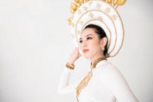 Thùy Tiên hé lộ trang phục dân tộc tại Miss International 2018
