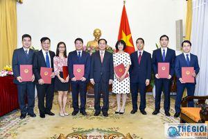 Bộ Ngoại giao bổ nhiệm nhiều nhân sự cấp Vụ