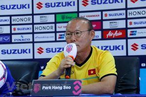 HLV Park Hang-seo thừa nhận 'trận mở màn là không dễ dàng'