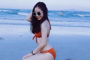 Bạn gái Quang Hải khoe vóc dáng nóng bỏng khi diện bikini