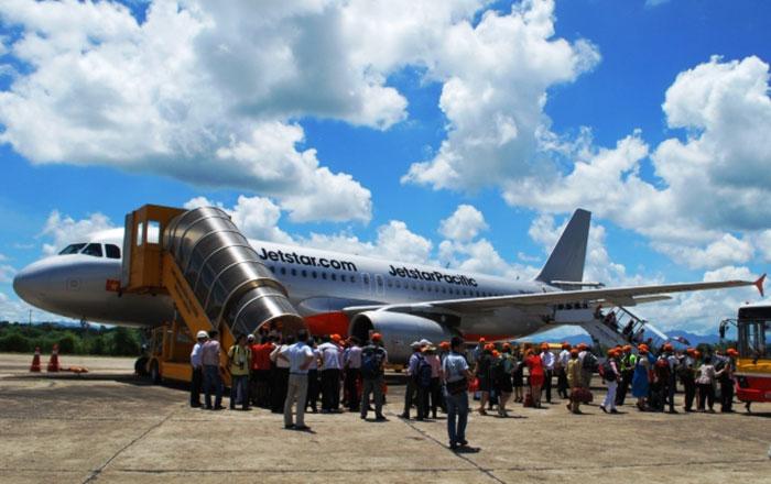 Một chuyến bay tới sân bay Tuy Hòa phải hủy vì lý do hi hữu
