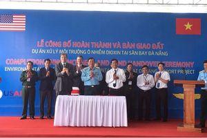 Bàn giao đất Dự án xử lý chất độc Dioxin sân bay Đà Nẵng