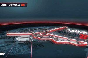 Hà Nội còn 18 tháng chuẩn bị cho giải đua F1 đầu tiên