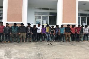 5 đối tượng bị khởi tố trong vụ trai 3 làng đánh nhau