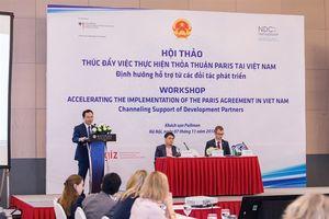 Đẩy mạnh Thỏa Thuận Paris tại Việt Nam thông qua các nỗ lực trong nước