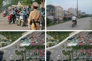 Tin tức Hà Nội 24h: Dắt xe máy ngược chiều trên vỉa hè trước mặt cảnh sát giao thông; chi tiết chặng đua F1 tại thủ đô