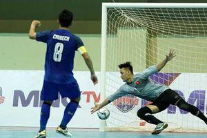 ĐT Việt Nam thua ngược Thái Lan tại giải futsal ĐNÁ