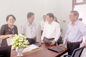 Phó Bí thư Thường trực Thành ủy Võ Công Trí kiểm tra công tác chuẩn bị ra mắt các 'Trung tâm hòa giải, đối thoại tại Tòa án'