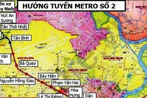Kiến nghị lùi thời gian xây dựng tuyến metro Bến Thành - Tham Lương
