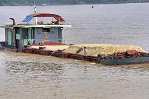 Mở đợt cao điểm xử lý phương tiện thủy vi phạm trên sông Hồng