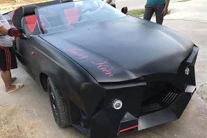 Quá trình độ xe 'đồng nát' 50 triệu thành 'siêu xe mui trần' ấn tượng của chàng trai Hà Tĩnh
