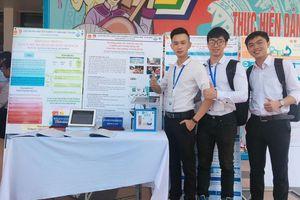 Sinh viên làm hệ thống cảnh báo ô nhiễm môi trường