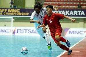 Thắng trận thứ 2, tuyển futsal Việt Nam giành vé vào bán kết AFF 2018