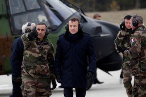Tổng thống Pháp vận động lập quân đội châu Âu