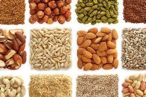 Những loại hạt giàu dinh dưỡng