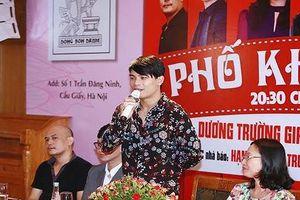 Dương Trường Giang thả mình với 'Phố không mùa'