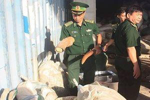 Chủ tịch Đà Nẵng khen thưởng các đơn vị bắt giữ hơn 10 tấn ngà voi, vẩy tê tê