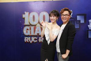 Hari Won nghi ngờ Đại Nghĩa bị mù màu trong '100 Giây Rực Rỡ'