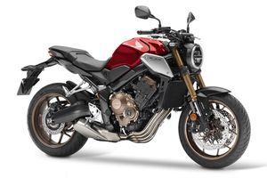 Honda CB650R 2019: Thiết kế phô trương sức mạnh
