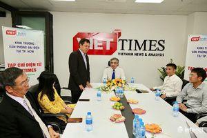 Tạp chí điện tử VietTimes khai trương văn phòng đại diện tại TP.HCM