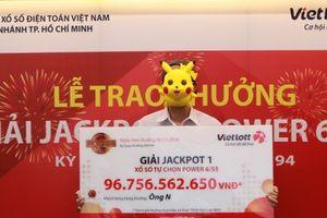 Xổ số Vietlott: Nhận giải 'khủng' 96,7 tỷ đồng, tỷ phú TP.HCM mua ngay nhà mới
