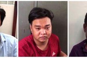 Trinh sát bao vây bắt nhóm nghiện dàn cảnh va chạm giao thông trộm tài sản