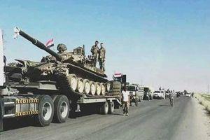 Quân đội Syria điều hàng chục xe bọc thép tới sa mạc Sweida đấu với IS