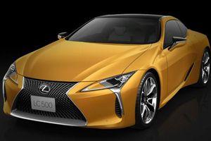 Lexus LC Lustre Yellow bản giới hạn ra mắt, dành riêng cho Nhật Bản