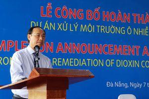 Bàn giao đất sạch dioxin, tạo đà mở rộng sân bay Đà Nẵng