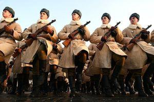Nga mít tinh kỷ niệm 77 năm cuộc diễu binh huyền thoại