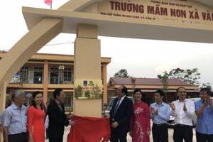 Đạm Cà Mau khánh thành trường mầm non tại Hà Nam