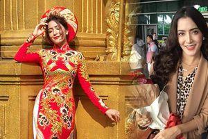 'Nữ hoàng drama' Pinky Savika đã tới Việt Nam, duyên dáng trong tà áo dài