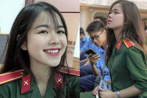 Nữ sinh mặc áo lính được 'truy link' nhiều nhất hôm nay: 'Không ngờ ảnh chụp lén lại gây bão mạng xã hội'