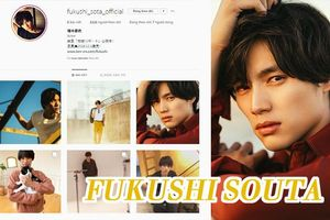 Nam diễn viên Fukushi Souta mở tài khoản Instagram