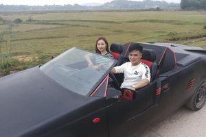 Thanh niên Hà Tĩnh gây sốt khi độ xe nát thành siêu xe mui trần đẹp mê ly