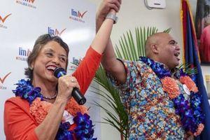 Bầu cử giữa nhiệm kỳ ở Mỹ: Đảo Guam có nữ thống đốc đầu tiên