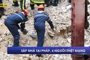 Sập nhà tại Pháp, 4 người thiệt mạng