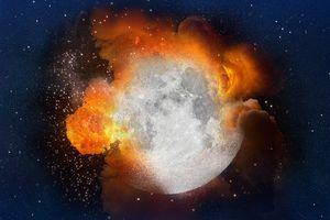 Điều gì sẽ xảy ra với Trái Đất nếu mặt trăng bất ngờ bị nổ tung?