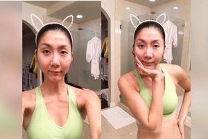 Cận cảnh vẻ đẹp siêu gợi cảm của Ngọc Quyên sau khi ly hôn chồng Việt kiều
