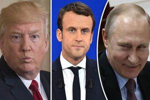 Tổng thống Pháp 'cản trở' cuộc gặp thượng đỉnh Trump-Putin tại Paris?