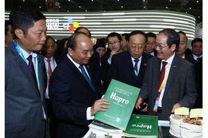 Hapro tham dự Hội chợ nhập khẩu quốc tế Thượng Hải 2018