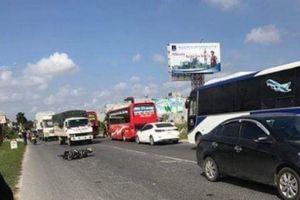 Thái Bình: Xe khách húc văng xe máy rồi bỏ trốn, một người tử vong tại chỗ